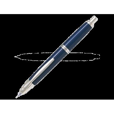 Capless bleu attributs rhodiés - Plume M