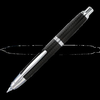 Capless graphite noir attributs rhodiés - Plume M