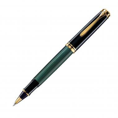 R600 Roller noir/vert