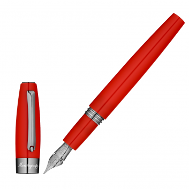 "Stylo-plume ""Montegrappa for Le Stylographe"" - Rouge - Flex - Plume EF"
