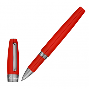"""Stylo Roller  """"Montegrappa for Le Stylographe"""" - Rouge"""
