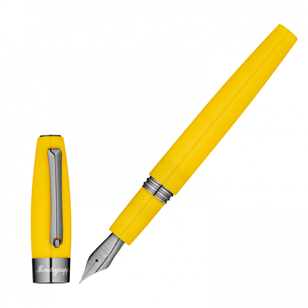"Stylo-plume ""Montegrappa for Le Stylographe"" - Jaune - Plume F"