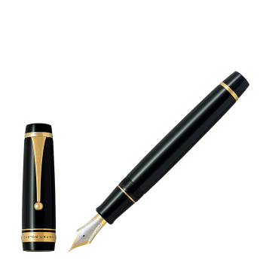 Stylo-plume Custom Urushi laqué Noir