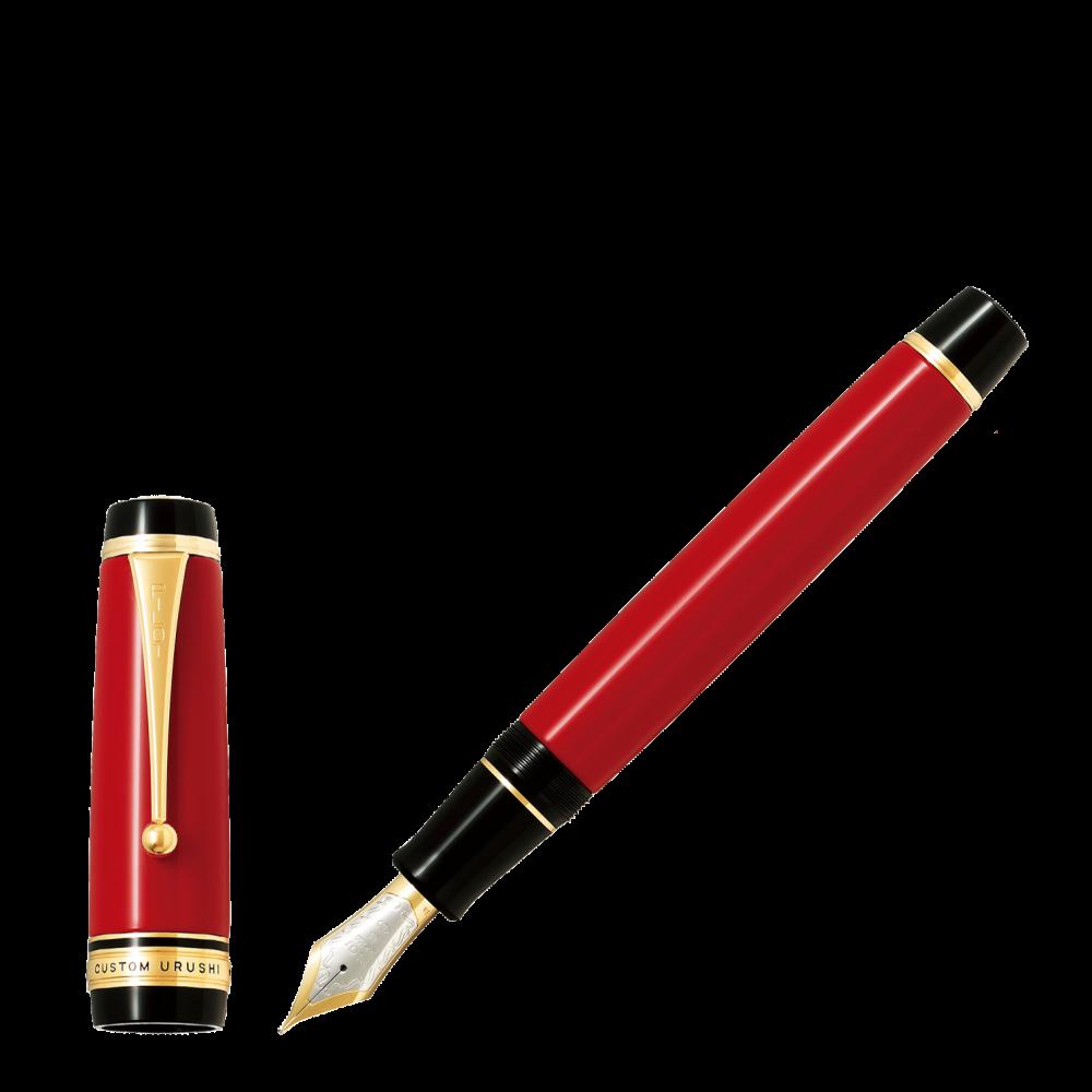Stylo-plume Custom Urushi laqué Rouge