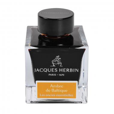Flacon d'encre Jacques Herbin 50 ml Ambre De La Baltique