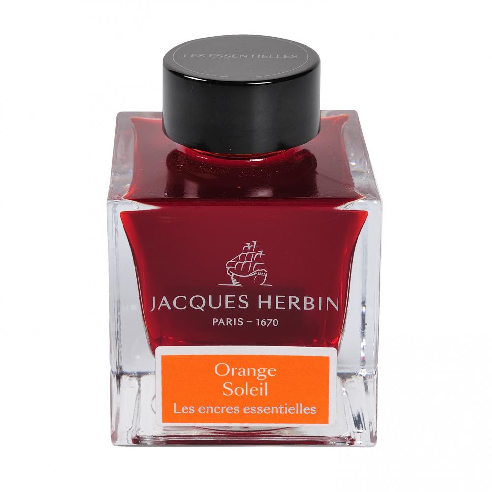 Flacon d'encre Jacques Herbin 50 ml Orange Soleil