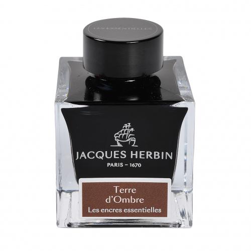 Flacon d'encre Jacques Herbin 50 ml Terre d'Ombre