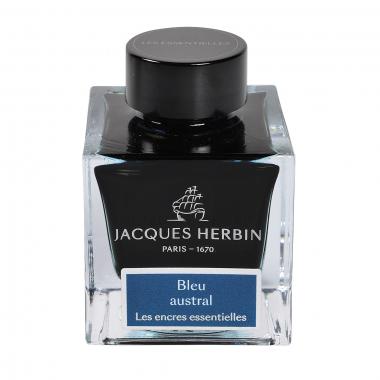Flacon d'encre Jacques Herbin 50 ml Bleu Austral