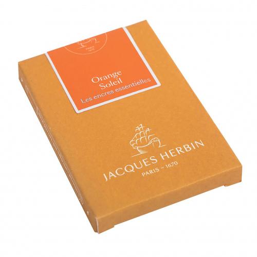 Cartouches d'encre Jacques Herbin - Orange Soleil