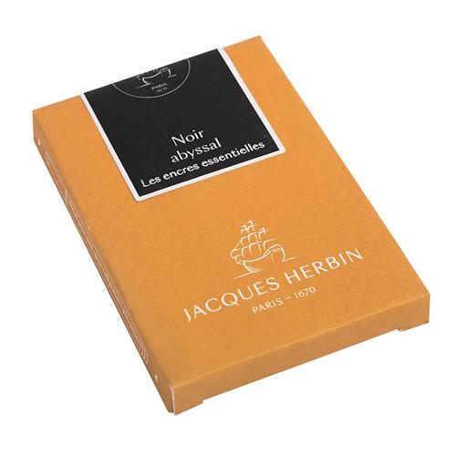Cartouches d'encre Jacques Herbin - Noir Abyssal