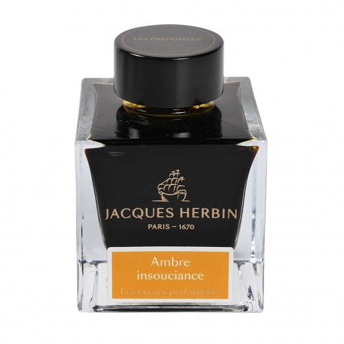 Flacon d'encre Jacques Herbin 50 ml - Ambre Insouciance