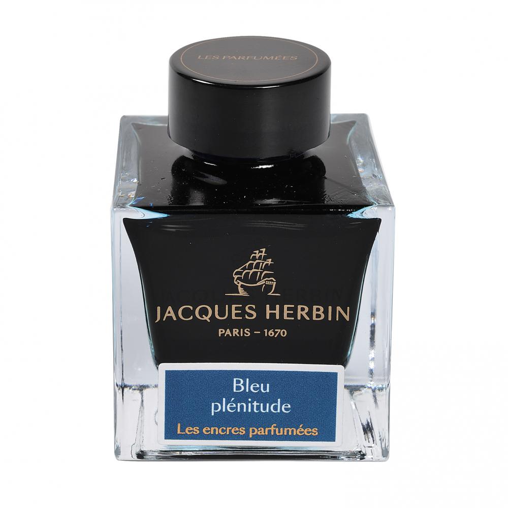 Flacon d'encre Jacques Herbin 50 ml - Bleu Plenitude