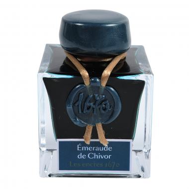 Flacon d'encre Jacques Herbin 50 ml - Emeraude De Chivor