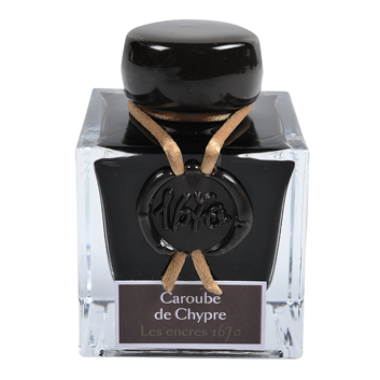Flacon d'encre Jacques Herbin 50 ml - Caroube De Chypre