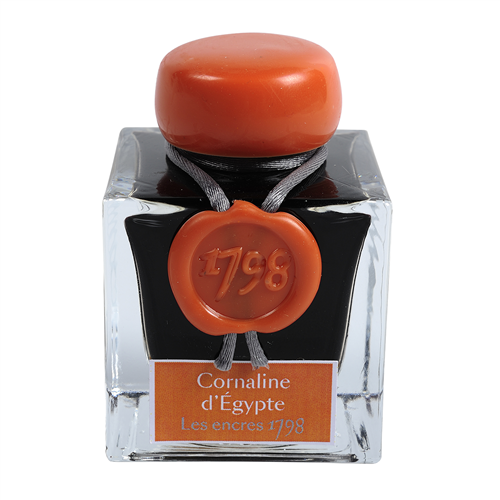 Flacon d'encre Jacques Herbin 50 ml - Cornaline d'Egypte