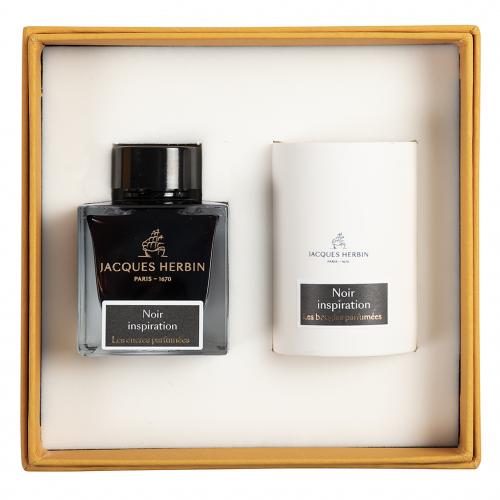 Bougie Parfumee Noir- Jacques Herbin - Inspiration
