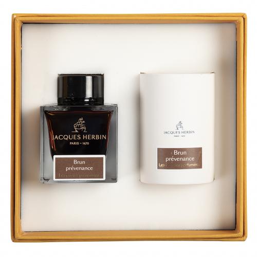 Bougie Parfumee Brun- Jacques Herbin - Prevenance