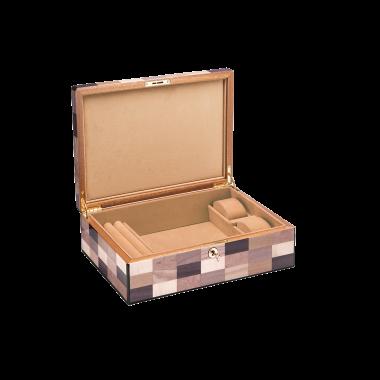 Coffrets à Bijoux MORICI - VENEZIA // SESTRIERE. Capacité : 2 montres