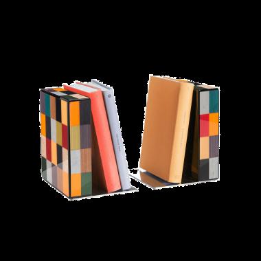Serre-Livres MORICI - VENEZIA // RIALTO. Finition vernis brillant.