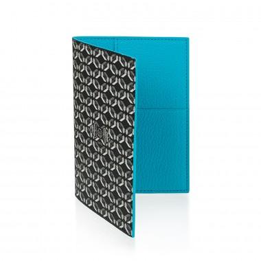 Porte-passeport PINEL & PINEL brooklyn en toile enduite perfect black