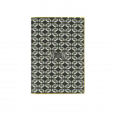 Porte-passeport PINEL & PINEL brooklyn en toile enduite sexy black