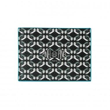 porte-cartes PINEL & PINEL pop 3c toile enduite perfect black