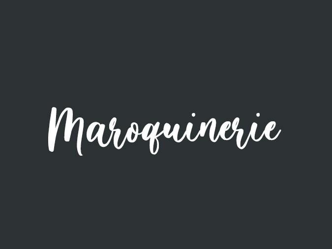 Maroquinerie